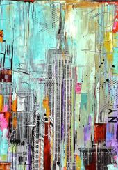 new york abstract painting by jolina anthony