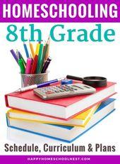 Homeschooling eighth Grade: Schedule, Curriculum & Plans