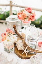 Décoration de Table pour Mariage Thème Marin