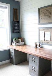 35+ Incredible DIY Farmhouse Desk Decor Ideas On A Budget