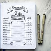 10 Bullet Journal Money Trackers To Manage Your Fi…