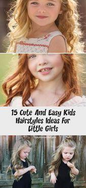 #Cute #diyhairstylese #Easy #girls #Hairstyles #ideas