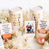 Cube Photo Stand – (mehr Farben erhältlich) – Polaroid Display, Cubicle Decor, Host Geschenke, Instax min   – Products