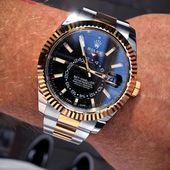 Rolex Sky-Dweller Black Dial Herrenuhr 326933