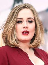 Frisuren rundes Gesicht »Die 10 schönsten Inspir+#Adele #Bob #dem #die #Ein #Frisuren #für