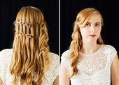 Braids For Your Bridesmaids Green Wedding Shoes