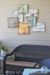 5 projects in a week project 3 reclaimed wood art bec4-beyondthepic….