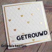 """@gelindaskaartjes on Instagram: """"Weer een keer een kaartje op mijn blog! . #ge…"""