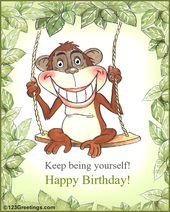 Fun Birthday Card Birthday Greetings Funny Birthday Humor Happy Birthday Email