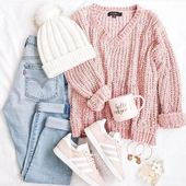 School Outfit Ideas for Everyday Life – Just Trendy Girls – #cuteoutfits – Outfits