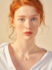 Hirschhorn & Perle Charm Halskette