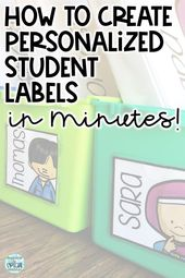 Create Customized Pupil Labels in Minutes!