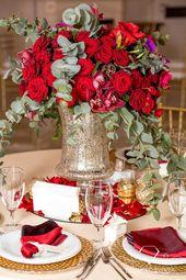 Bei roten Rosen dreht sich alles um Lust und Liebe! #engange #lady #glamour #ff #trend #hote …   – Table planning