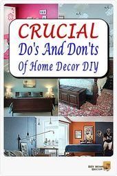 Befolgen Sie diese Tipps, um grundlegende Verbesserungen für Ihr Zuhause vorzunehmen.   – Home Decor DIY