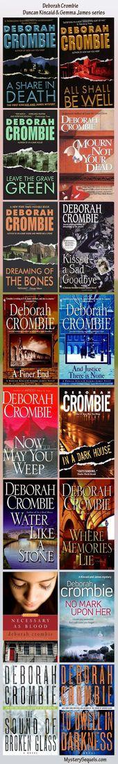 Deborah Crombie books in her Duncan Kincaid British crime mystery series – Books to Enjoy – Mind Yoga