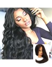 Human Hair Wigs for Women Full Lace Wig 100% Real Human Hair Lange Remy Echthaar