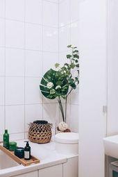 So einfach lässt sich ein kleines Badezimmer modern gestalten