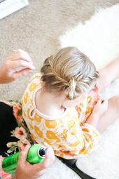 Create A Super Sweet 'Do Using This Easy Toddler Braid Hack Tutorial | Momtast…