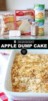 Apfel-Zimt-Dump-Kuchen