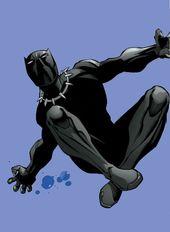 Schwarzer Panther von Carlos Pacheco   – Black Panther
