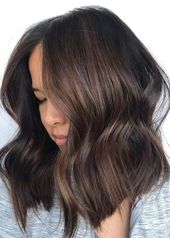 Charming Chocolate Brown Hair Color Shades for Women 2019