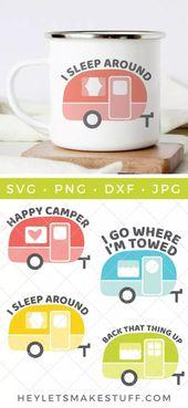 Es ist Zeit, Ihr Camp aufzubauen! Dieses Vintage Camper SVG Bundle ist voll von …   – Hey, Let's Make Stuff by Cori George