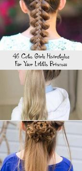 46 Cute Girls Hairstyles For Your Little Princess – BABY   ATK-#ATK #Baby #Cute …