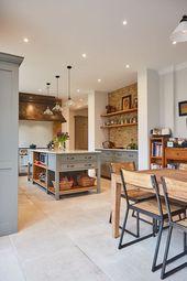53 Interior House Everyone Should Keep #kitchen #kitchendesign #rustickitchen #dreamkitchen