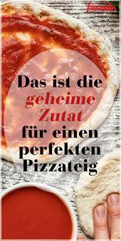 Das ist die geheime Zutat für einen perfekten Pizzateig