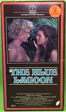 The Blue Lagoon Vhs 1990 Brooke Shields Christopher Atkins Leo