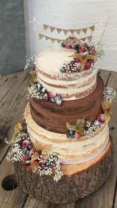 Amazing Rustic Wedding Cakes – Melone