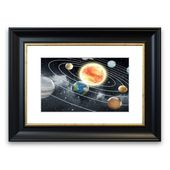 East Urban Home Framed Poster Movement of the planets around the sun Wayfair.de