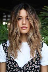 18 Beste Winter-Haarfarben ★ Trendige Ombre-Frisuren, die Ihr Haar zum Strahlen bringen