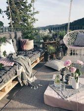 Mein Outdoor Bereich auf der Dachterrasse und wer ge…,  #auf #Bereich #Dachterrasse #der #m…