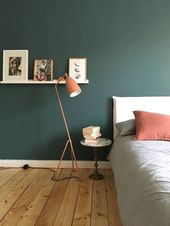 #schlafzimmer #grüneliebe #vintage #boho #inte…