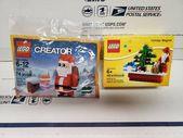 Lego Weihnachtsszene Magnet 853353 038 Santa Cre #affil #Marke #Weihnacht …   – Lego Ideen
