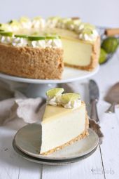 Photo of World's best lime cheesecake with white chocolate Bake t …