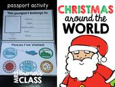 NO PREP Aktivitätspaket für Weihnachten rund um den Globus mit 10 Ländern in … – Anita Bremer's TPT Resources