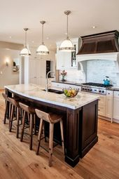 18 Fantastic Coastal Kitchen Designs For Your Beach House or Villa   – beach kitchen