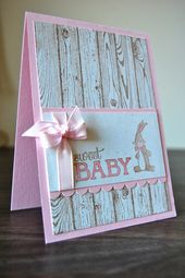 Baby Cards Julie Kettlewell - Stampin Up UK Independent Demonstrator - Order products 24/7:...