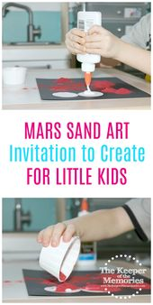Mars Invitation to Create Process Art Experience