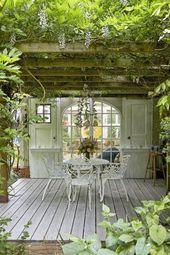 #gartenhaus einrichtung Gemütliche Gartenhäuser und Inseln für die Datscha – … – garten haus