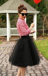 Comment porter la jupe tutu   – Look