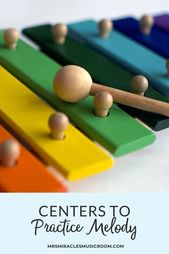 Centers to Practice Melody – Mrs. Miracle's Music Room