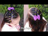 Frisur für EASY GIRLS mit Hosenträgern MAI LOPEZ - YouTube