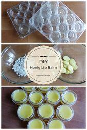 Unwiderstehliche Lippen: DIY Honig Lip Balm