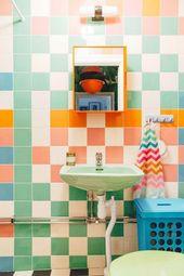 20+ der schönsten kühnen Badezimmer! – The Style Index Diese Badezimmer … …   – Bohemian Dekoration