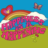 Happiness is a Happening Art Print Illustration by Dawn Aquarius