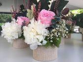 Recordatorios para bautizos, flores preservadas ⋆ Ki Hana decora – Flores para …   – decoração adulto