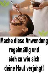 Tun Sie diese Anwendung regelmäßig und sehen Sie, wie sich Ihre Haut verjüngt!   – Gesicht Maske Creme